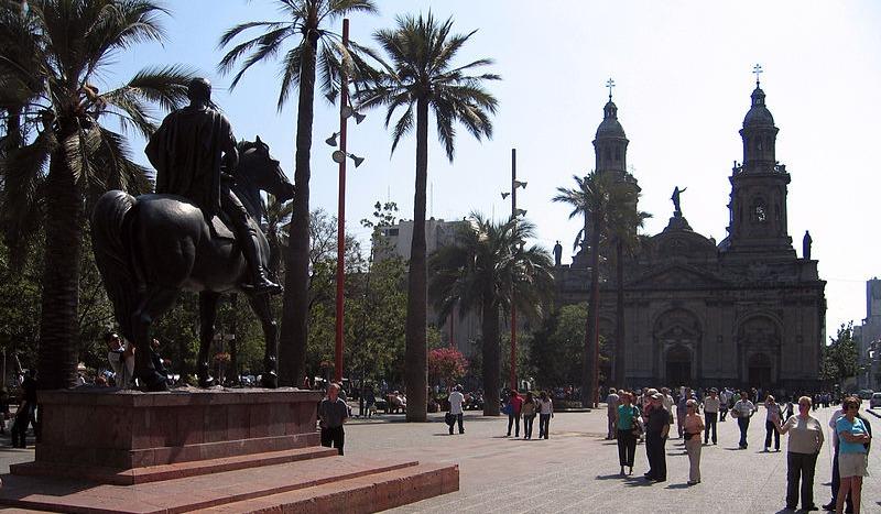 Plaza de Armas de Santiago - Entropy, Common Wikipedia
