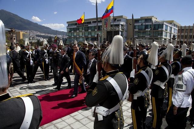 Fête nationale 10 août Crédit photo à : Cancilleria del Ecuador