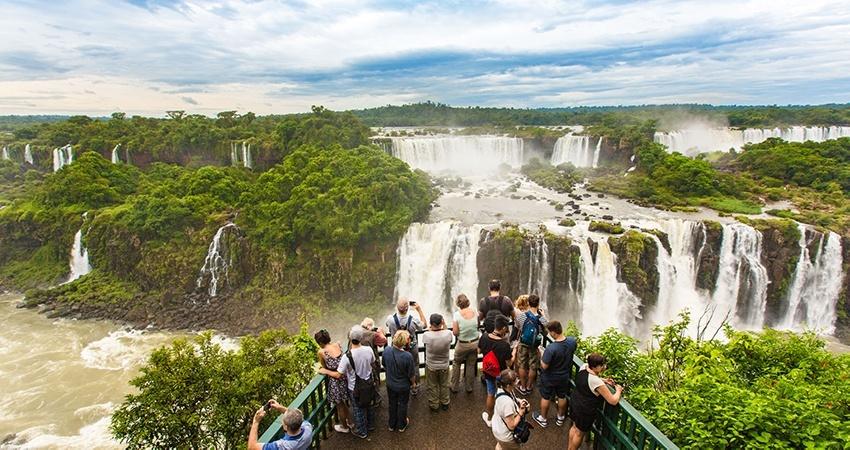 Chutes d'Iguazú côté argentin