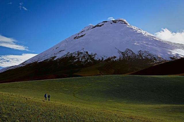 Volcan Cotopaxi Crédit photo à Christian Cadena https://www.flickr.com/photos/christiancadena/