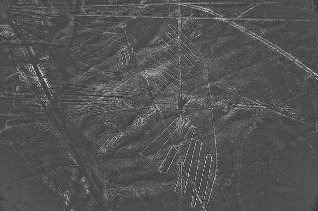 Les lignes Nazca crédit photo : nwhitford https://www.flickr.com/photos/22526939@N03/