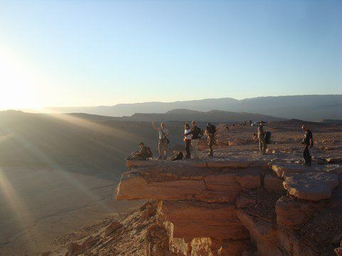 La Vallée de la Lune, le désert de San Pedro de Atacama, Chili