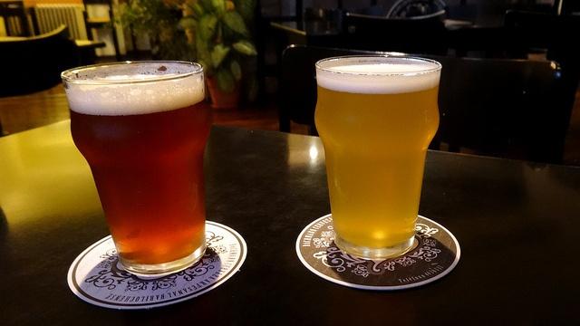 Bière locale à Bariloche