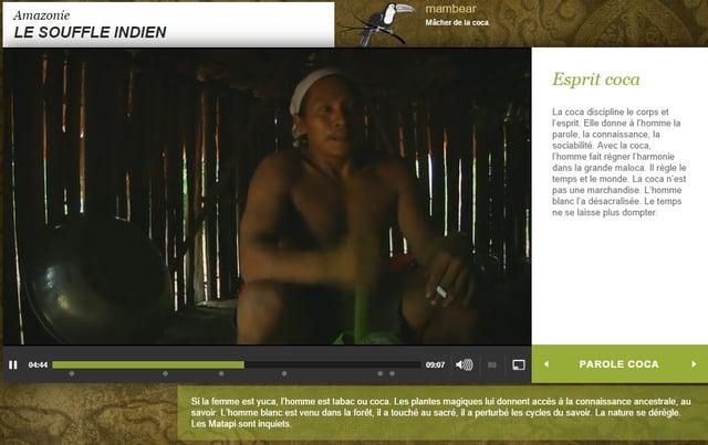 Capture d'écran Le souffle indien