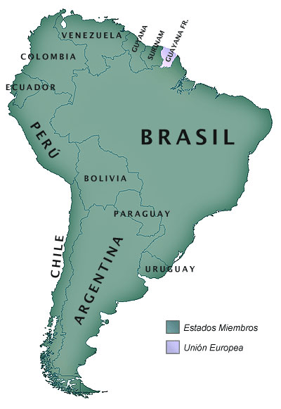 Carte Amérique du Sud Crédit photo à : Douglas Fernandes httpswww.flickr.comphotosthejourney1972