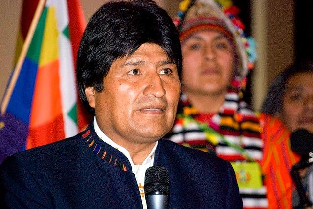 "Evo Morales © <a href=""https://www.flickr.com/photos/sebastian-baryli"" target=""_blank"">Sebastian Baryli</a>"
