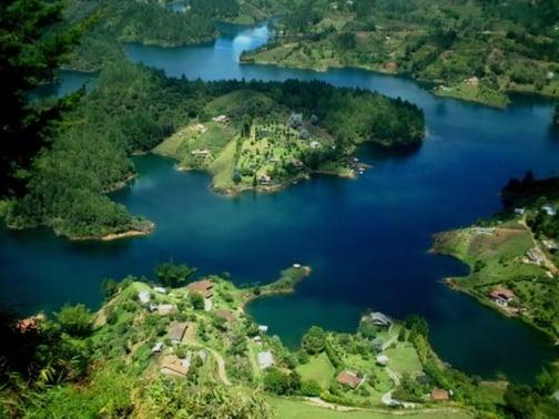 Les environs de Medellin, Colombie