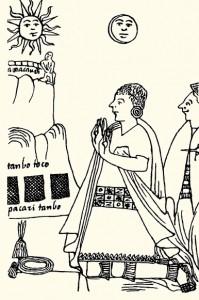 Inti et Quilla dieux Incas