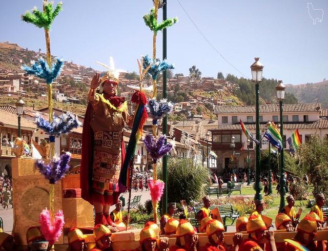 Bonne nouvelle Pérou : Fête Inti Raymi