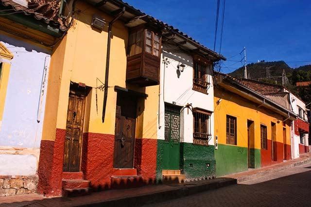 La Candelaria Bogota Colombie