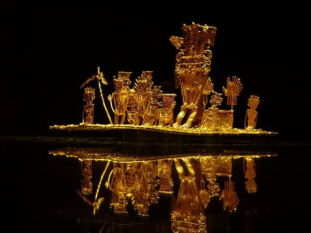 Musee de l'or Bogota Colombie
