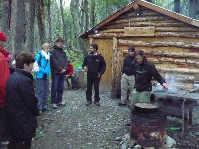 barbecue avec les gauchos en patagonie