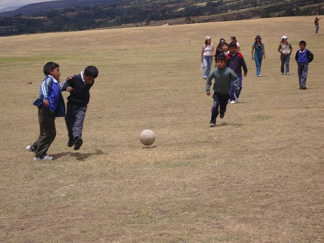 Partie de foot Ayacucho Perou