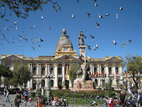 Plaza Murillo La paz