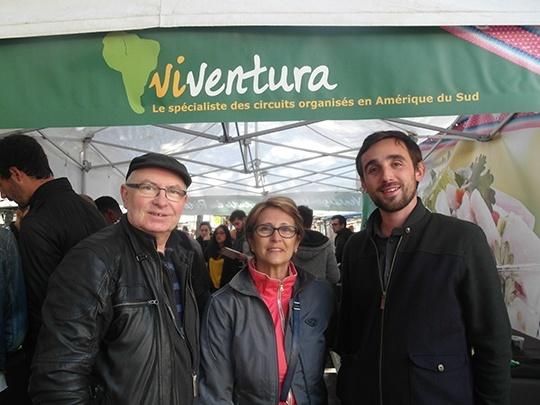 Michaël et des voyageurs Viventura ravis !