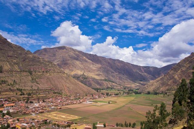 Vue sur la Vallée Sacrée, Pérou