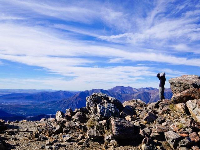 Sommet du Cerro Catedral, Bariloche, Argentine