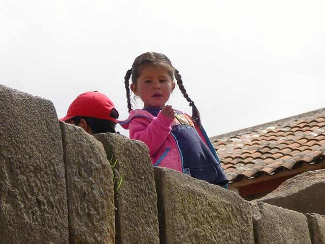 Un petit sourire Ayacucho Perou