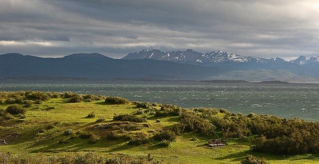 Vue magnifique Ushuaia Patagonie