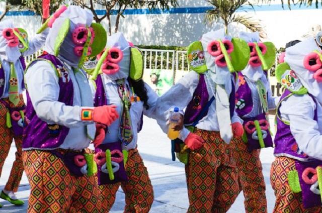costumes du Carnaval de Barranquilla Colombie