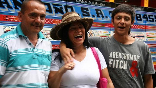 bonne humeur Chivas Colombie copyright Stefan Rights
