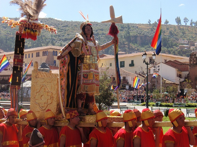 Cortège Inti Raymi Cusco Pérou © lawtonjm