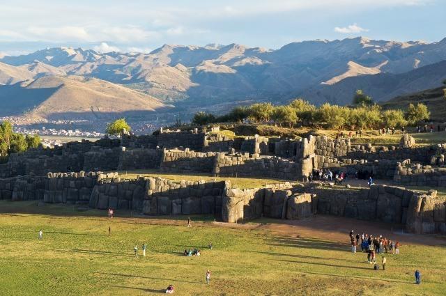 Ruines Inca à Cuzco, Pérou