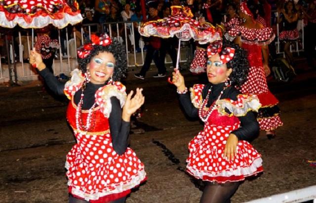 costume Negrita Puloy carnaval de Baranquilla Colombie