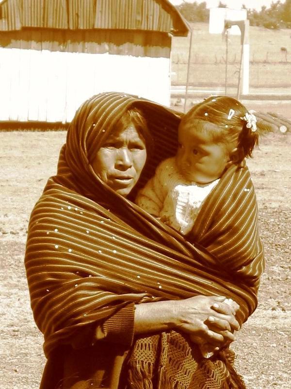 femme et enfant