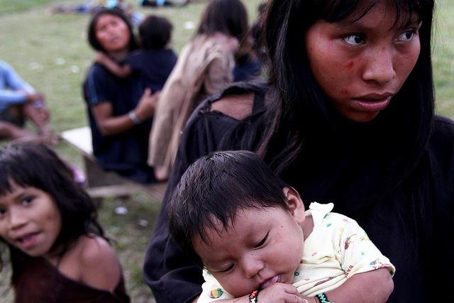 femme et enfant Pérou