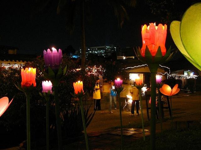 fête des lumières Colombie lampions copyright Luz Adriana Villa