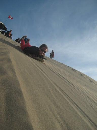 Dunes de l'Oasis de Huacachina - Circuits Pérou Sud / Pérou Bolivie Chili