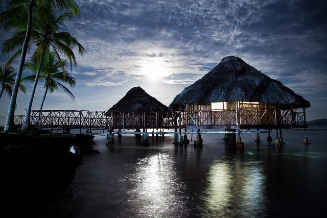 habitation paradisiaque sur les îles San Blas