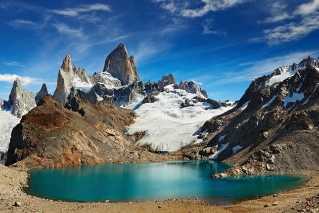 Glacier et Pisco Sour