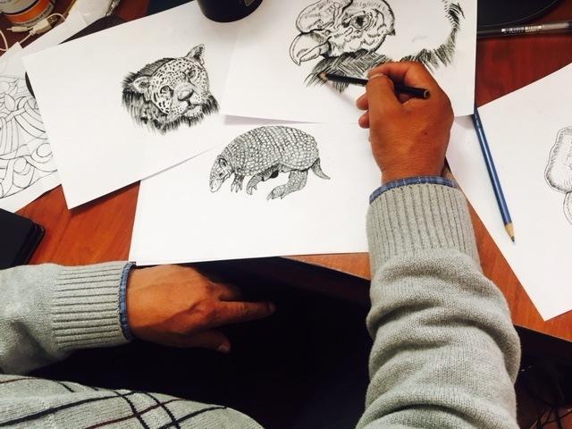 Croquis de dessins