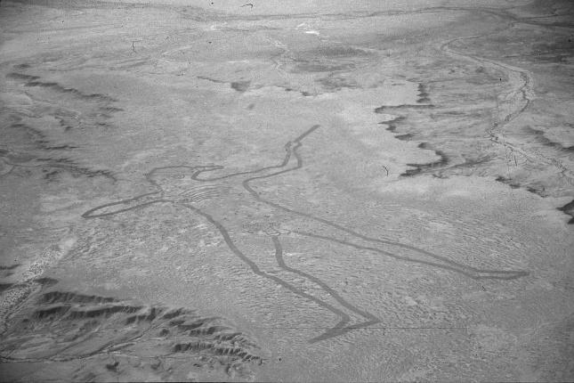 Géoglyphe de L'Homme de Maree en Australie