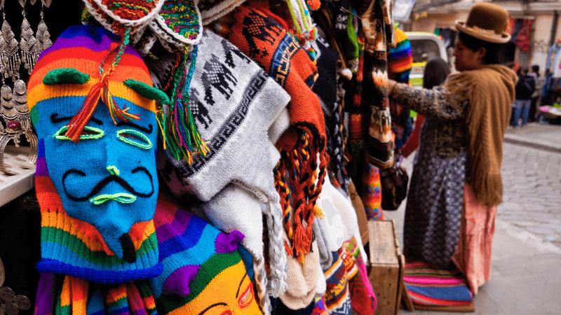 Witches' market à La Paz - Viventura