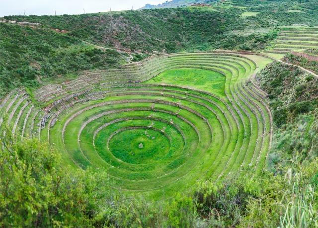 Les terrasses de Moray, Pérou
