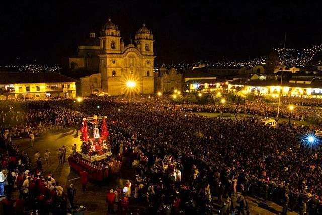 place des armes cusco nouvel an
