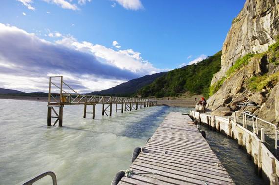 ponton patagonie
