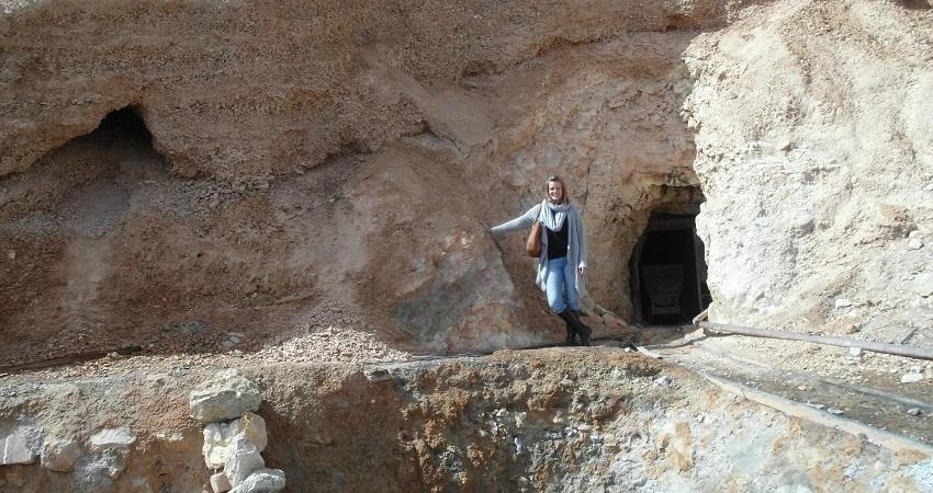 Je me trouve à l'entrée d'un trou creusé dans les mines de Cerro Rico