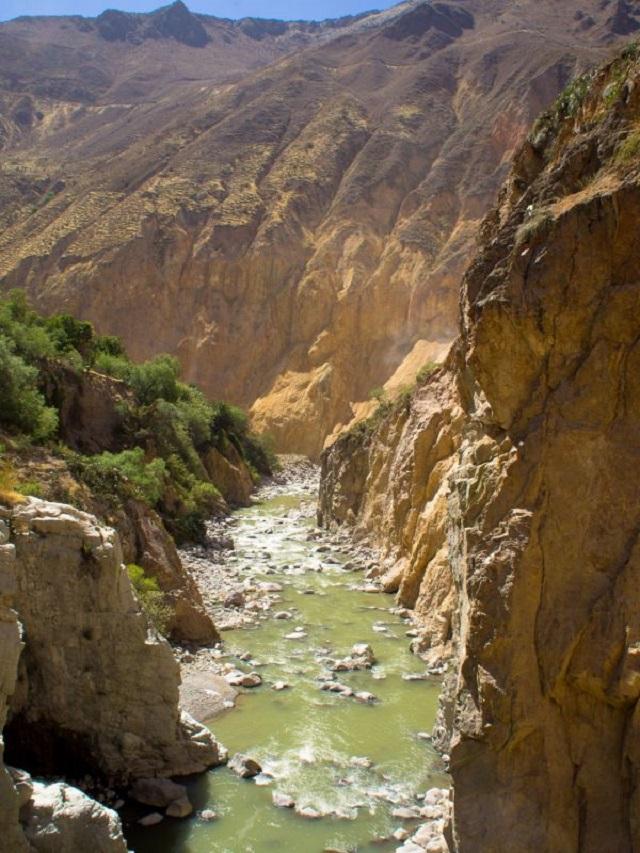 rivière de Colca, Pérou