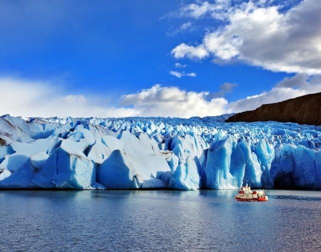 L'impressionnant glacier Grey