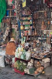 La Paz bolivie marché sorcières
