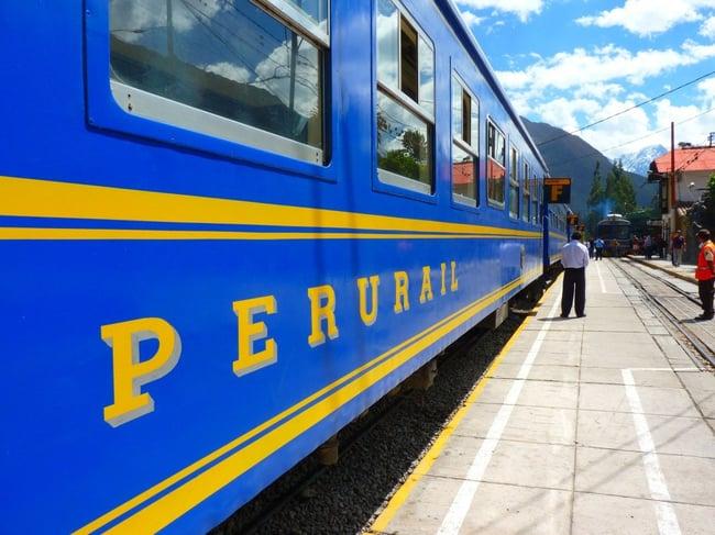 Bonne nouvelle : Trains Pérou