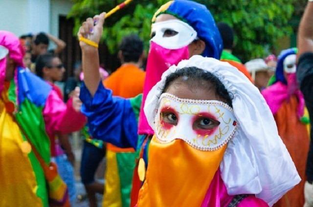 costume du Monocuoco carnaval de Baranquilla, Colombie