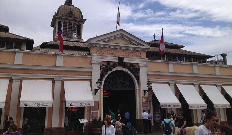 Mercado Central de Santiago - Paulo JC Nogueira, Common Wikipedia
