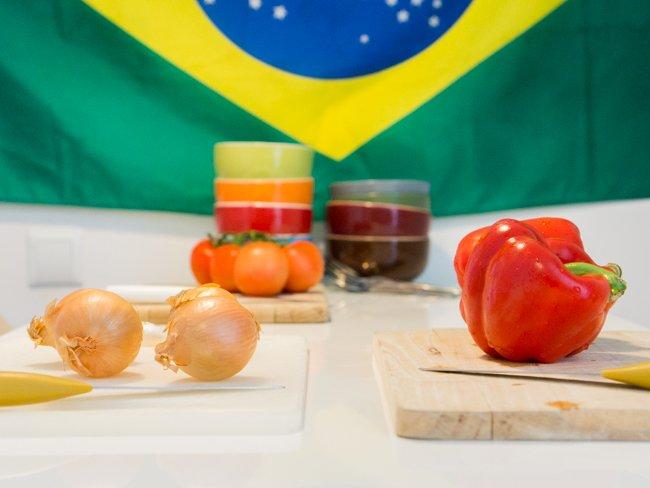 Légumes composant le Moqueca
